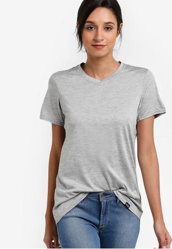 Patagonia grey Capilene Daily T-Shirt PA549AA52WYHMY_1