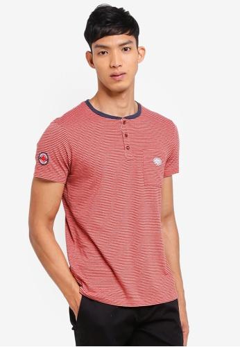 ESPRIT 橘色 Short Sleeve T-Shirt 7828CAA53D378DGS_1