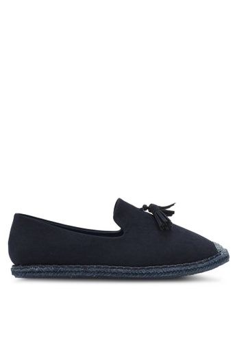 ZALORA navy Espadrilles with Tassels 391ACSH056B58AGS_1