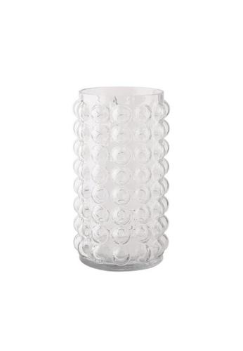 DILAS HOME Bubble Glass Vase (Clear) - Tall Big 29EB0HLF1B7B95GS_1