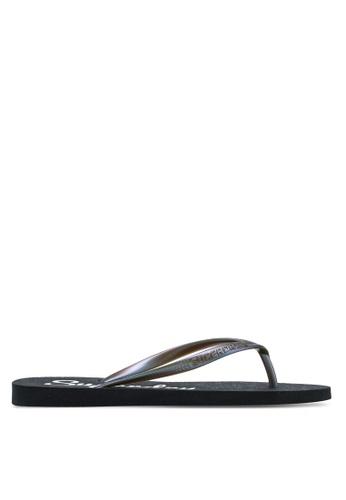 Superdry black Super Sleek Flip Flop 0E79FSH98735AEGS_1