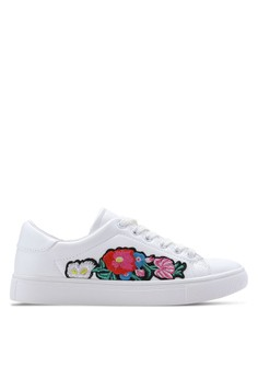 Addicts Anonymous  Flowers Badges Sneakers