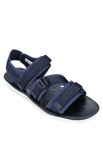 魔術貼踝帶涼鞋,esprit台灣網頁 鞋, 拖鞋