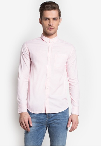 5cd7e0ec340b9 Shop Penshoppe Oxford Shirt with Pocket Online on ZALORA Philippines
