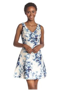 560b177182d9f London Rag blue Blue Flower Print Sleeveless Mini Dress 1C119AA1648DFEGS_1
