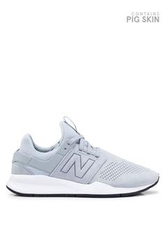 a0b399252af3 New Balance grey 247 Lifestyle Suede Shoes 84826SH96A144DGS 1