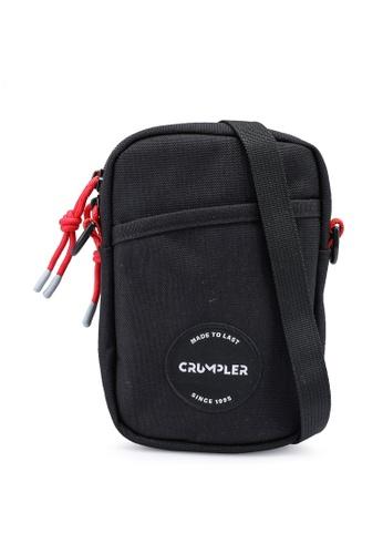 CRUMPLER black Ae Pokey Pouch Bag 02BE6ACEF40CABGS_1
