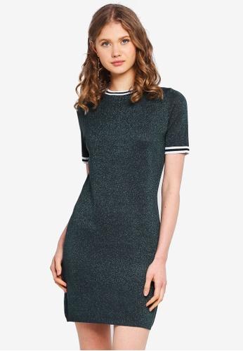 ONLY green Galaxy Knit Dress 5C5BBAAA207019GS_1