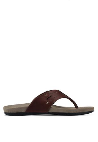 Weinbrenner brown Slide-On Sandals 57183SHB19E251GS_1