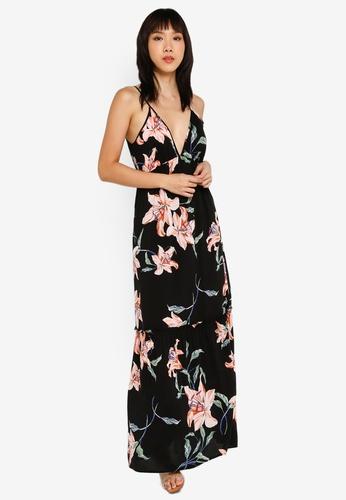 fa26c7d02b8e Buy FOREVER 21 Ruffled Floral Maxi Dress Online | ZALORA Malaysia
