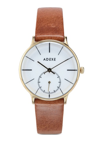 ADEXE Watches 褐色 Freerunner 手錶 853C3AC5D38FCBGS_1