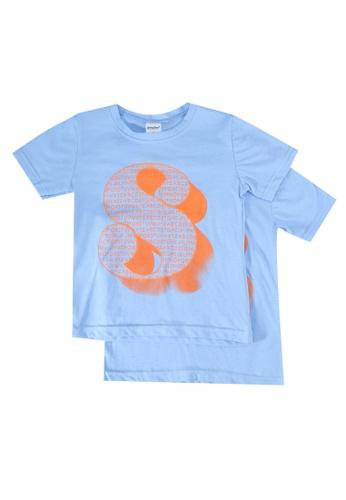 UniqTee blue Alphabet S Tee 2-Pack 51F28KAB8D4AC2GS_1