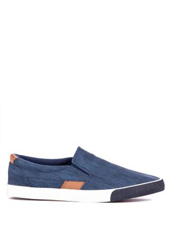 H2Ocean blue Ceeley Slip on Sneakers 6327CSHABCD79EGS_1
