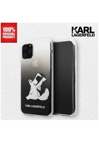 KARL LAGERFELD black Karl Lagerfeld Case Iphone 11 Pro 5.8 Transparan Fun Choupette Black 5ACEAES55C100FGS_1
