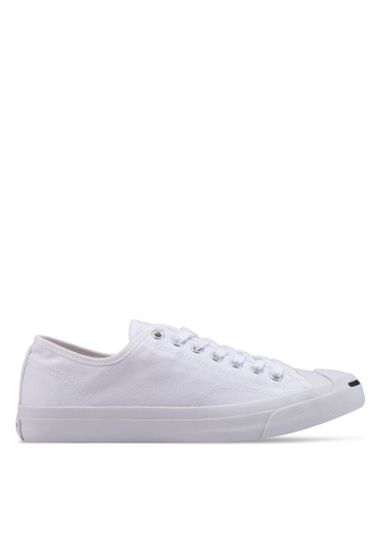 Converse white Jack Purcell Canvas CP Ox Unisex Sneakers CO302SH35BMUSG_1