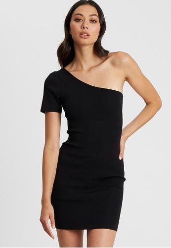BWLDR black Clarita Knit Dress 6B21CAA65B3151GS_1