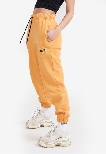 P.E Nation orange Heads Up Track Pants 37A21AA1F6857CGS_1
