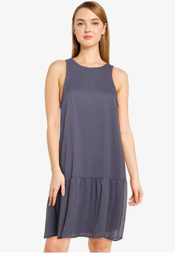 Vero Moda navy Maya Sleeveless Short Dress 7A65DAAA1CF737GS_1