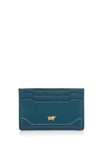 Braun Buffel green Lucrezia Flat Card Holder 35F00ACD9EBD85GS_1