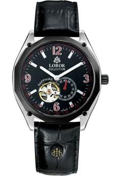 Master Gutzlaff Leather Watch