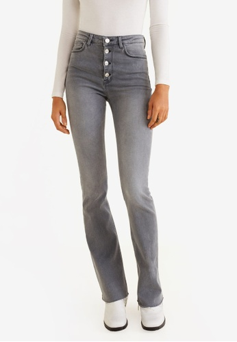 7c5005ad9d0 Buy Mango High Waist Flare Jeans Online on ZALORA Singapore
