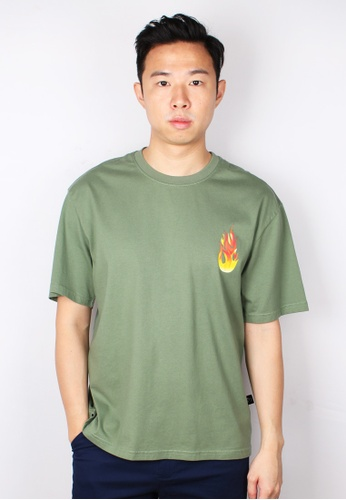 Moley green PASSION Oversized T-Shirt 9A536AA0033AF5GS_1