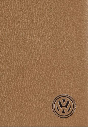 Volkswagen brown Volkswagen Genuine Leather Bi-Fold Long Wallet VO089AC22EIVMY_1