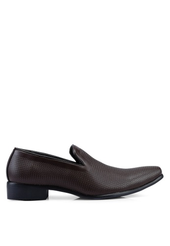 Bata brown Slip On Loafers A4C63SHB6A9F31GS_1