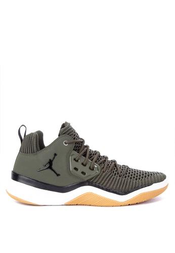 Nike green Jordan Dna Lx Shoes 0F70ASHADA4D73GS_1