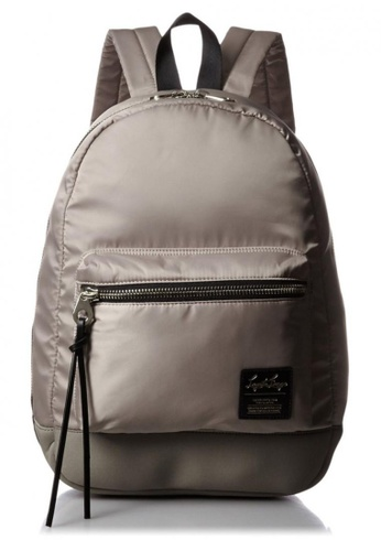 Anello grey Nylon Wide Open Rucksack LHB1021 – Grey AN821AC26CEFHK_1