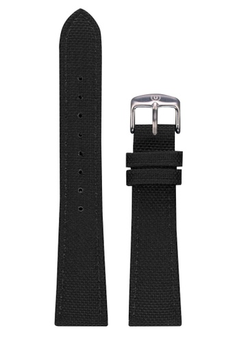 Undone black Undone Black Cordura Strap 20mm (Silver Buckle) UN712AC2VEJIHK_1
