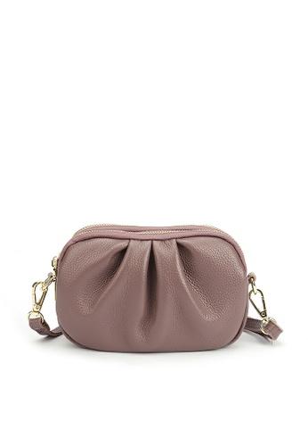 HAPPY FRIDAYS Three Layer Zipper Leather Shoulder Bags JN3050 2D6DDAC7161B07GS_1