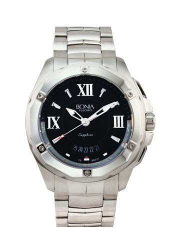 Bonia B737-1331 Jam Tangan Pria Silver