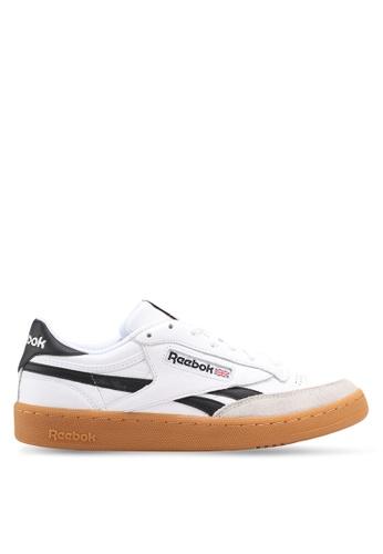 Reebok white Revenge Plus Gum Shoes RE691SH0SW29MY_1
