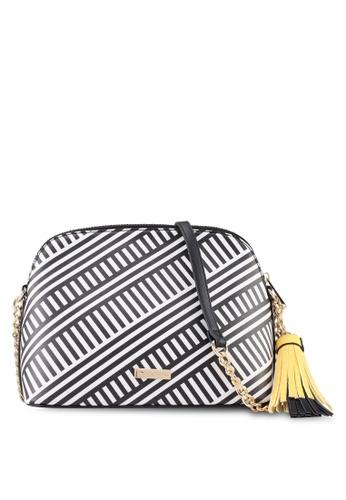 Call It Spring black and white and multi Quartiere Cross Body Handbag EFB8DAC750E401GS_1