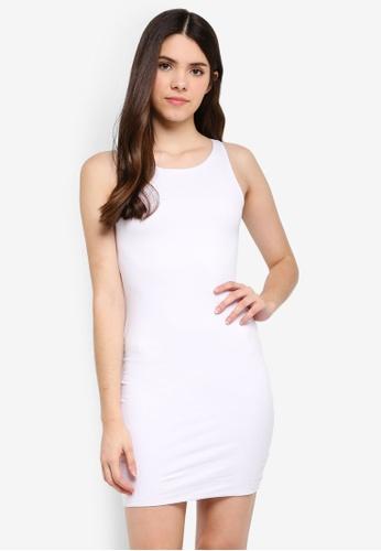 Supre white High Neck Mini Dress 5A465AAF8EB91AGS_1