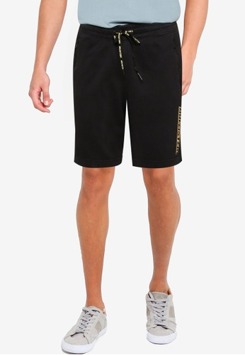 Hollister black Sport Shorts 8D647AA719401EGS_1