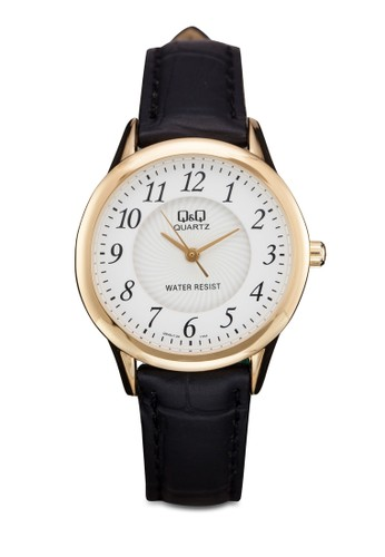 Q&aesprit outlet 旺角mp;Q Q949J104Y 圓框數字手錶, 錶類, 其它錶帶