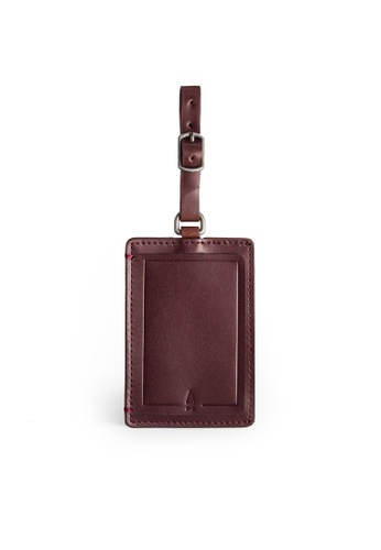 Gnome and Bow red Gulliver Luggage Tag E9AD4ACDCF67B8GS_1