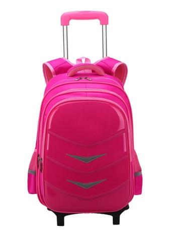 Twenty Eight Shoes pink VANSA Nylon Cart Backpacks VAK-Bp88192 45C41KCCB4AB88GS_1