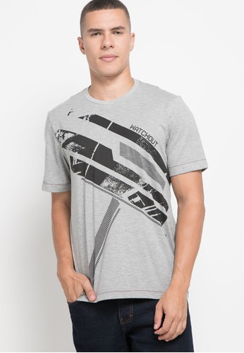 Watchout! Jeans grey Short Sleeve Without Collar 8FF56AA2356567GS_1