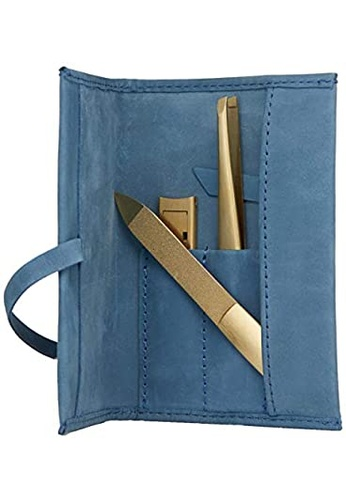 ZWILLING blue ZWILLING Twinox Manicure Set 3 Pcs Case Neat´S Leather With Ribbon 0AC00BEF7F4840GS_1