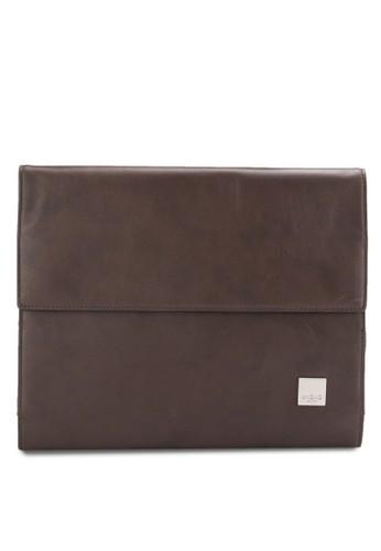 Knomad Air 10吋 褐色優質皮革收藏包, 包, esprit 高雄包