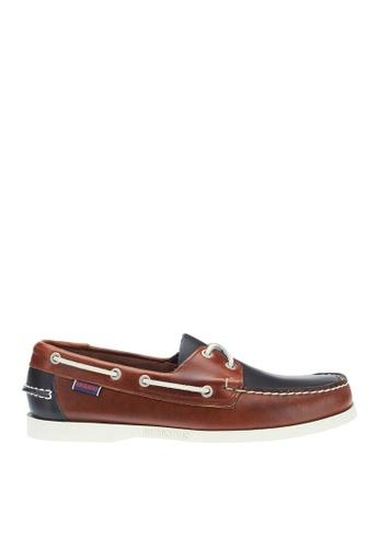 Sebago brown Mens Spinnaker Boat Shoes SE328SH61QDYPH_1