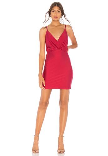 a41bc52b530b Buy by the way Claudette Surplice Mini Dress | ZALORA HK