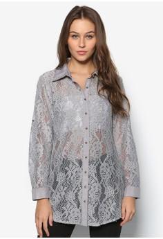 Long Sleeve Lace Shirt