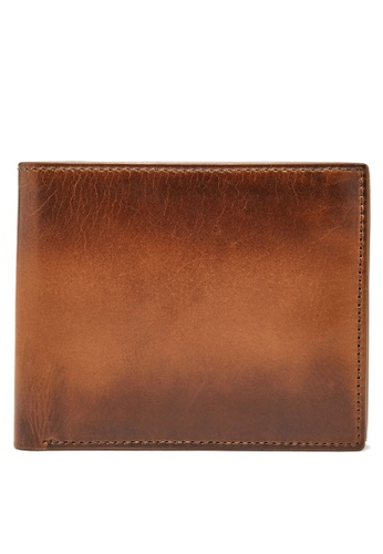 Fossil brown Fossil Paul Rfid Brown Wallet ML3894222 C2EA2AC4A35275GS_1