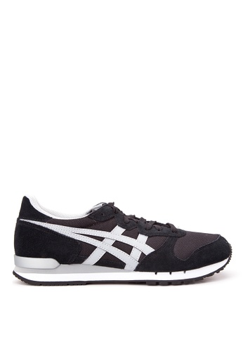 Onitsuka Tiger black and grey Alvarado Lace-up Sneakers ON625SH31DBCPH_1