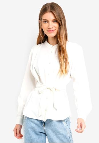 Vero Moda white Pearl Shirt 991C5AAC72D172GS_1