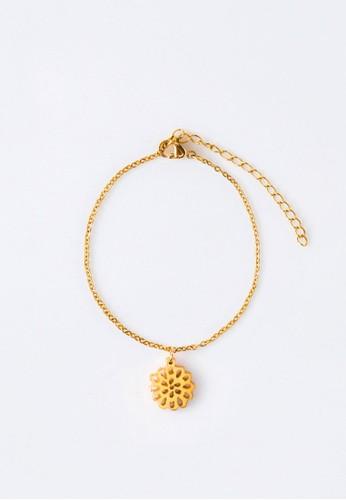 AEROCULATA Aeroculata November Fleur Bracelet Birthflower Gold 732A3ACDE505C5GS_1